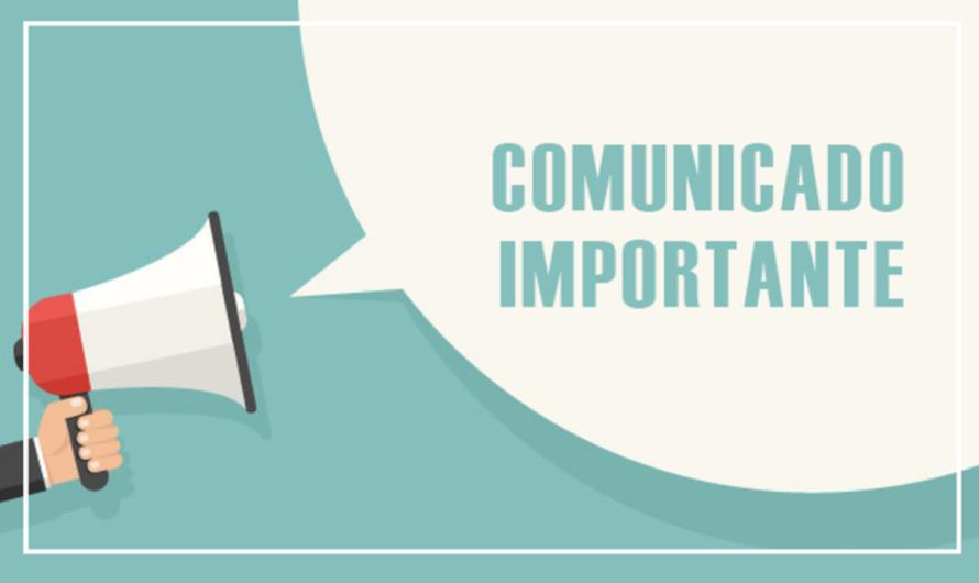 COMUNICADO IMPORTANTE RESOLUCIÓN FIN DE CURSO E INICIO 2020-21